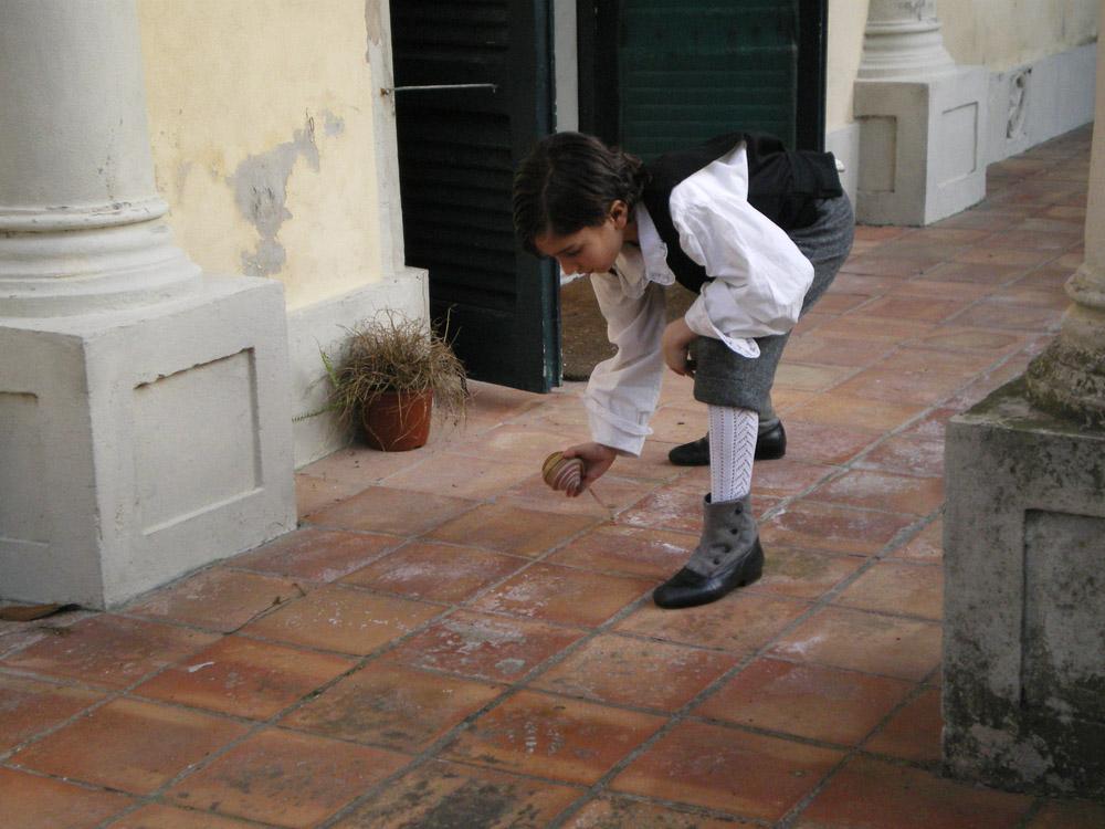 Carlo Zucchelli nel ruolo del piccolo Ghigo